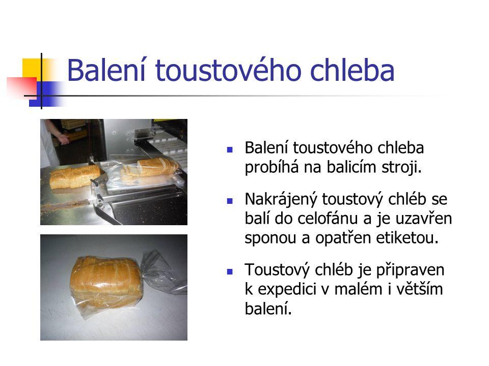 Balení toustového chleba