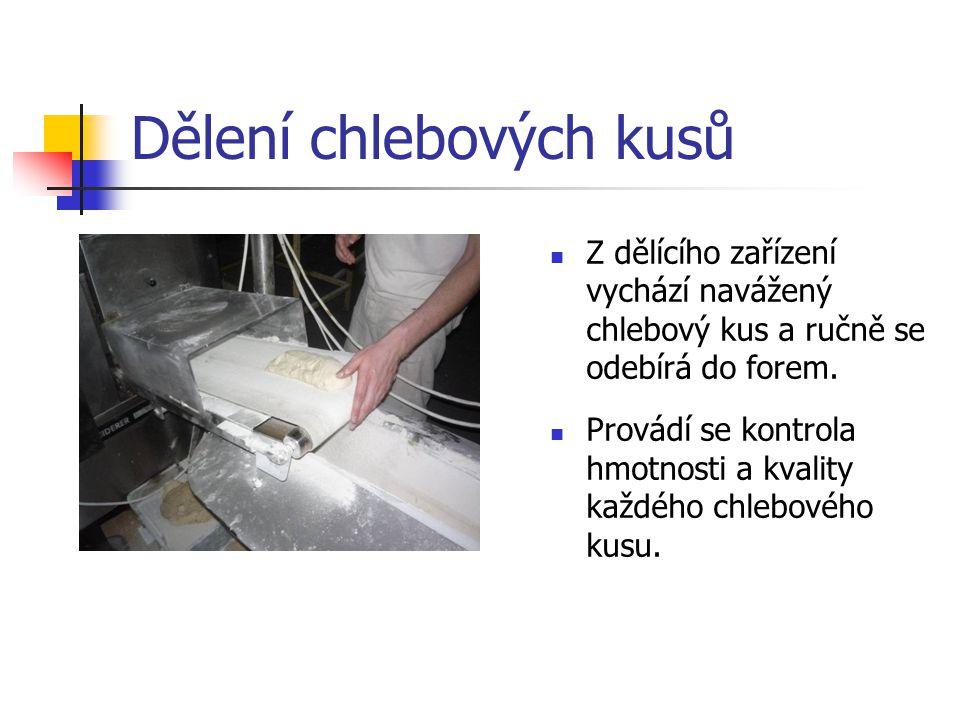 Dělení chlebových kusů