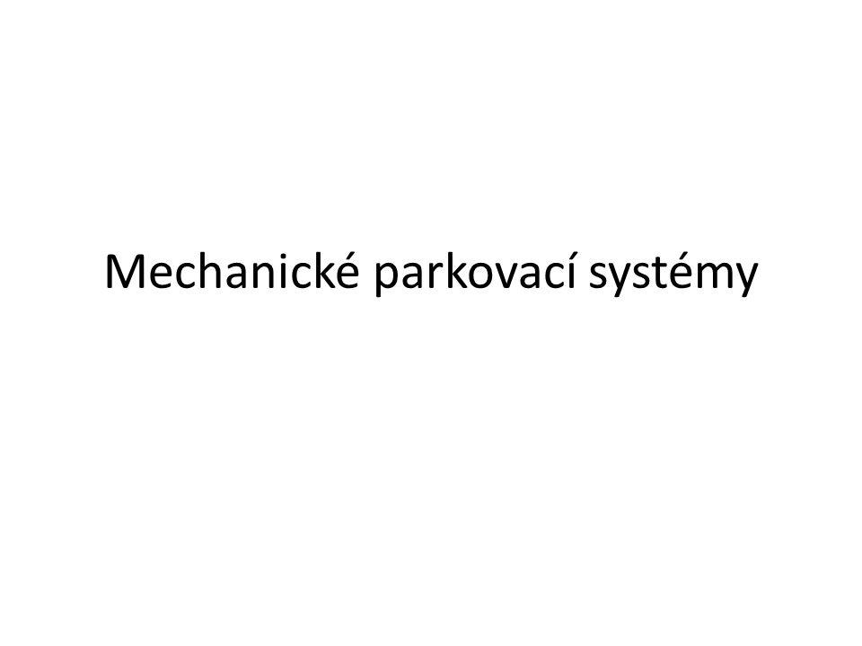 Mechanické parkovací systémy