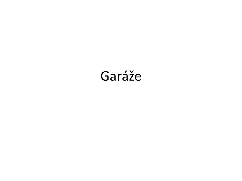 Garáže