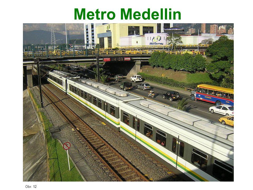 Metro Medellin Obr. 12