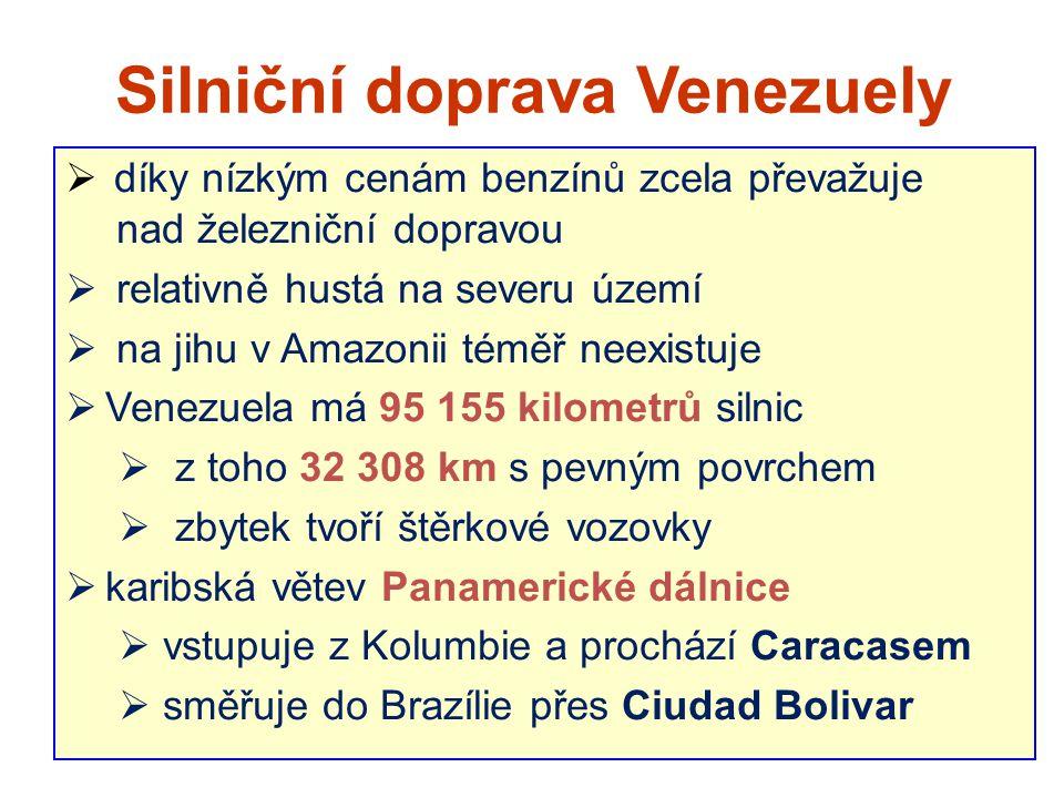 Silniční doprava Venezuely