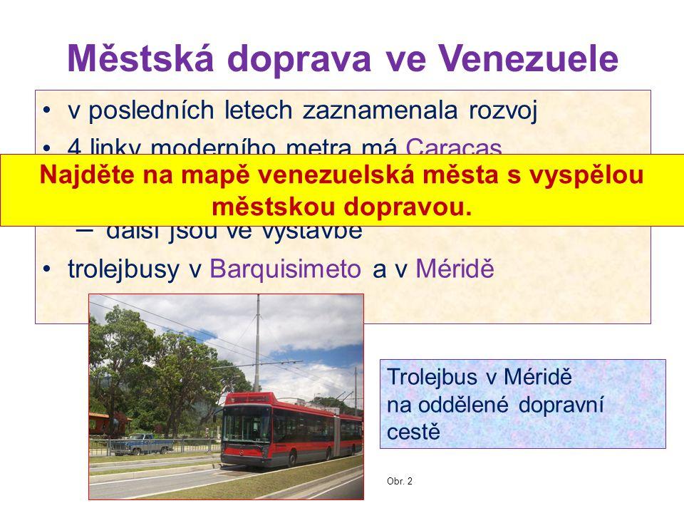 Městská doprava ve Venezuele