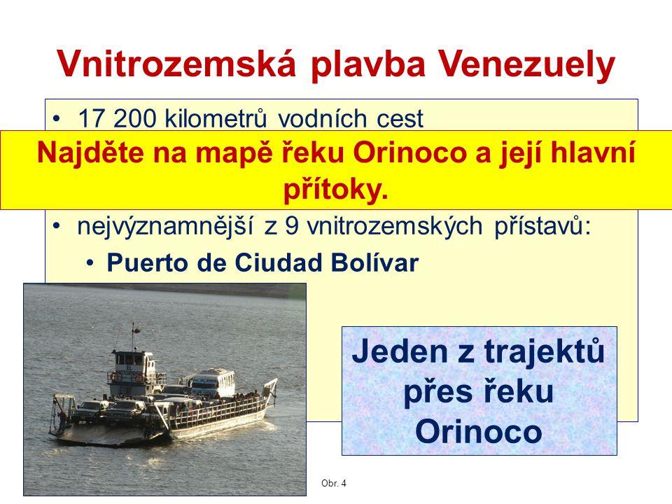 Vnitrozemská plavba Venezuely
