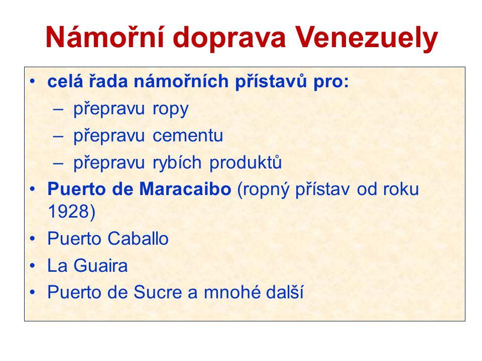 Námořní doprava Venezuely