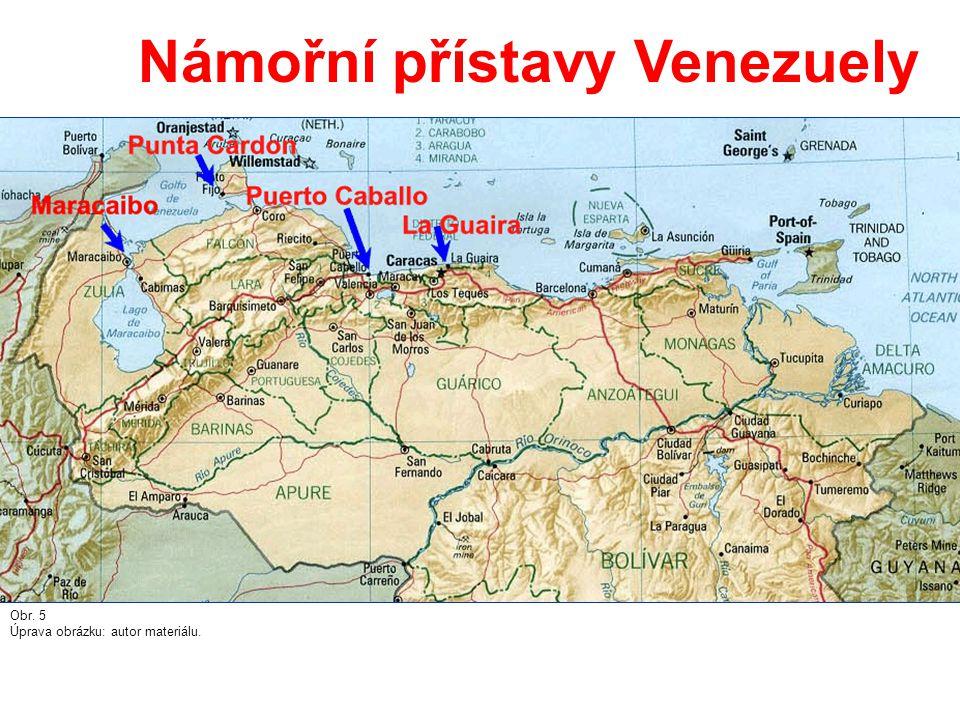 Námořní přístavy Venezuely