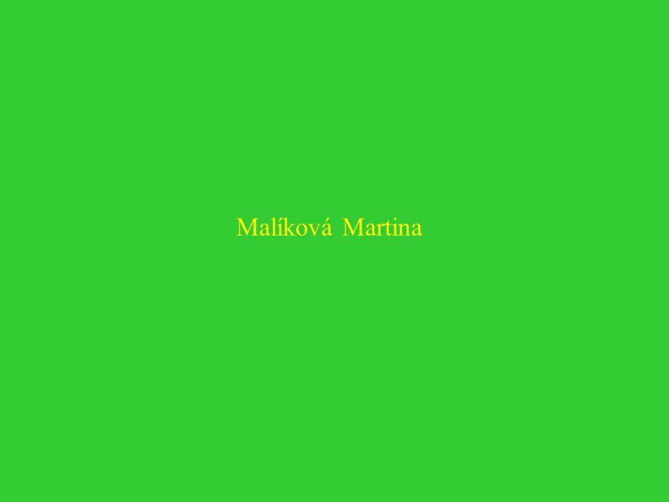 Malíková Martina