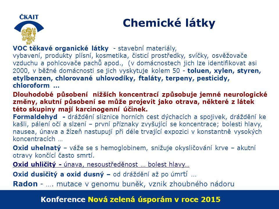 Konference Nová zelená úsporám v roce 2015