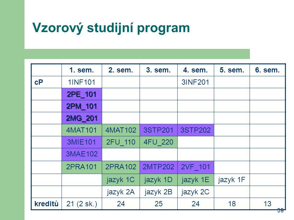 Vzorový studijní program