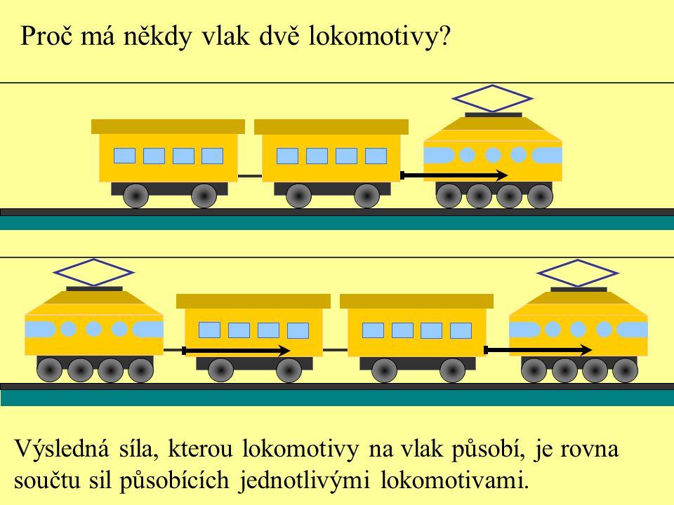 Proč má někdy vlak dvě lokomotivy