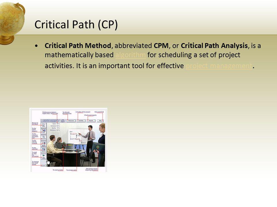 Critical Path (CP)