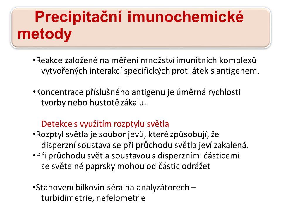 Precipitační imunochemické metody