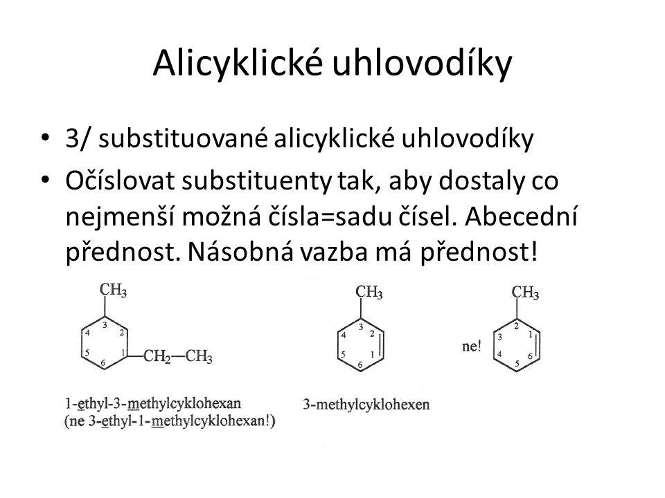 Alicyklické uhlovodíky