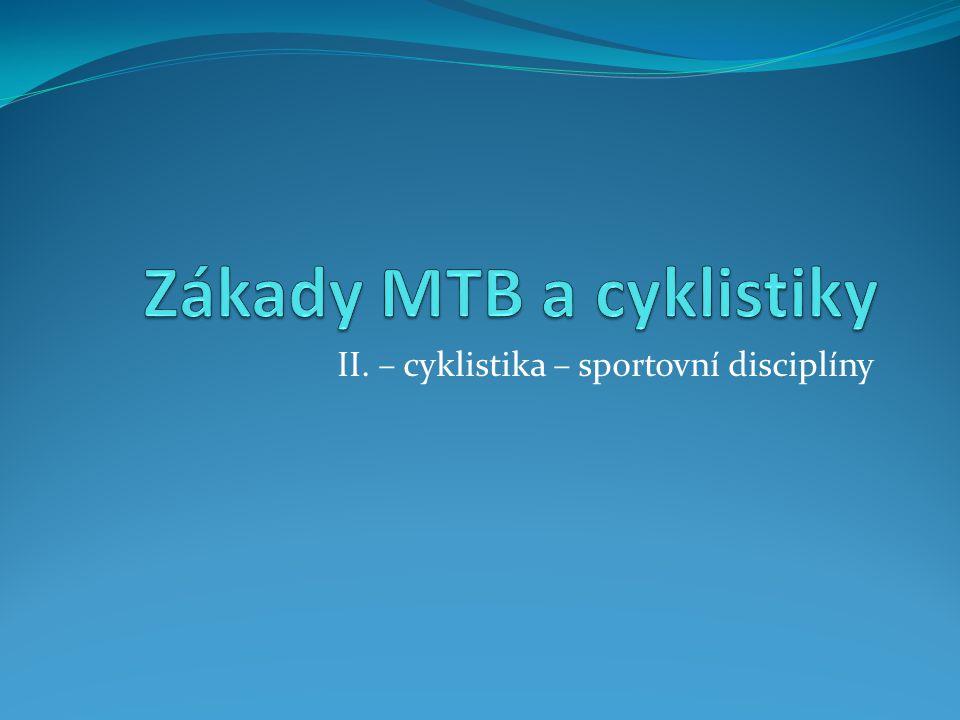 Zákady MTB a cyklistiky