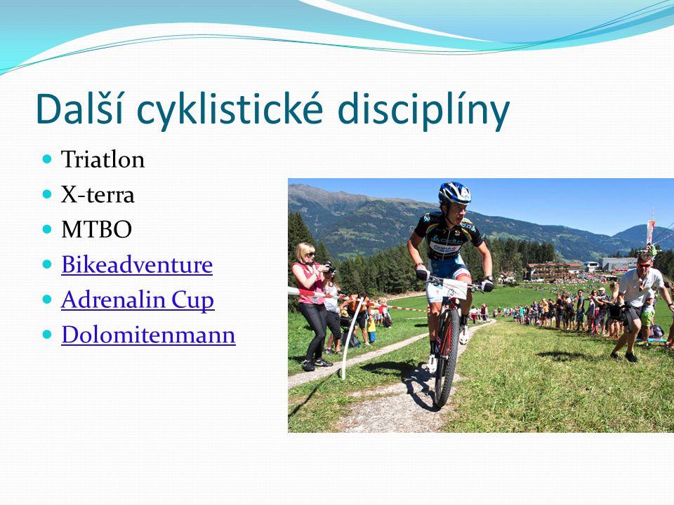 Další cyklistické disciplíny