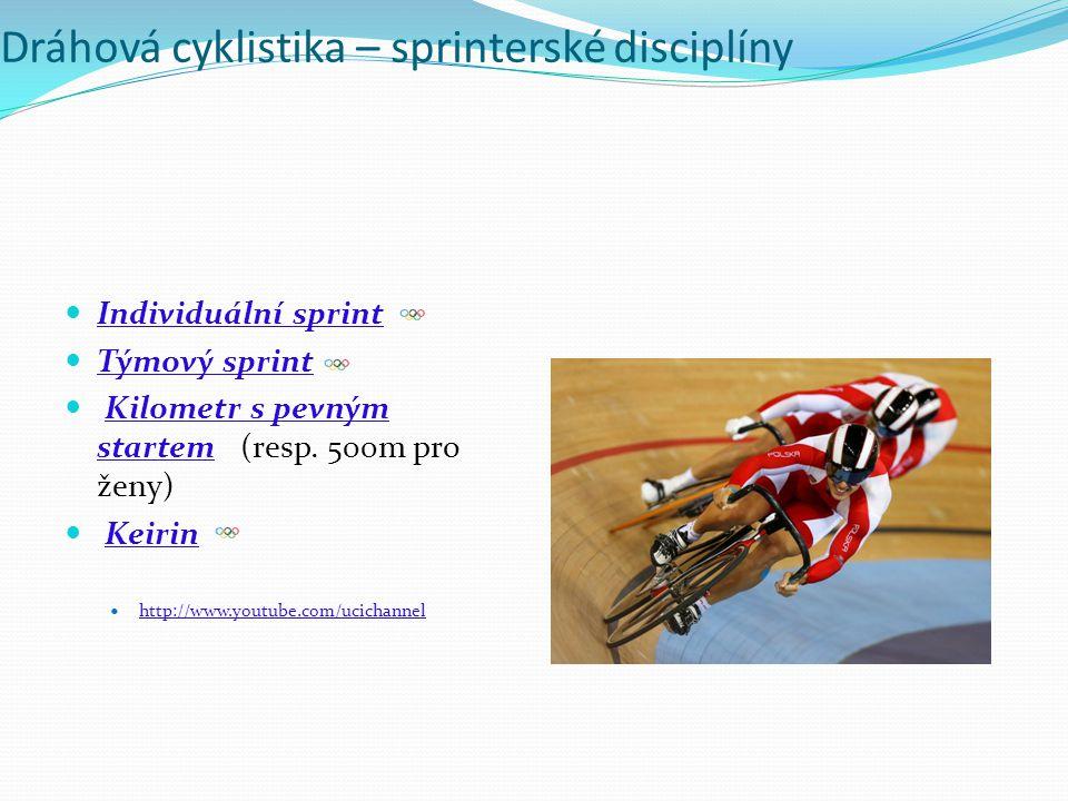 Dráhová cyklistika – sprinterské disciplíny