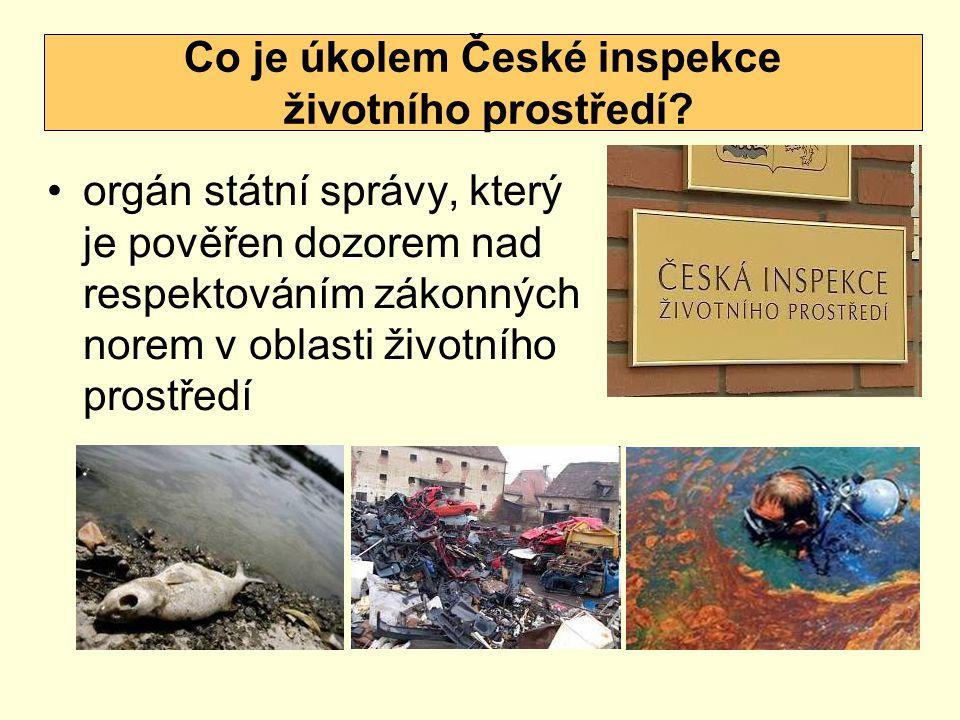 Co je úkolem České inspekce