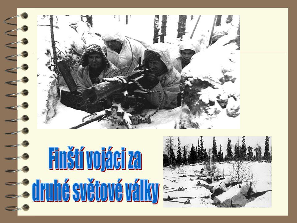 Finští vojáci za druhé světové války