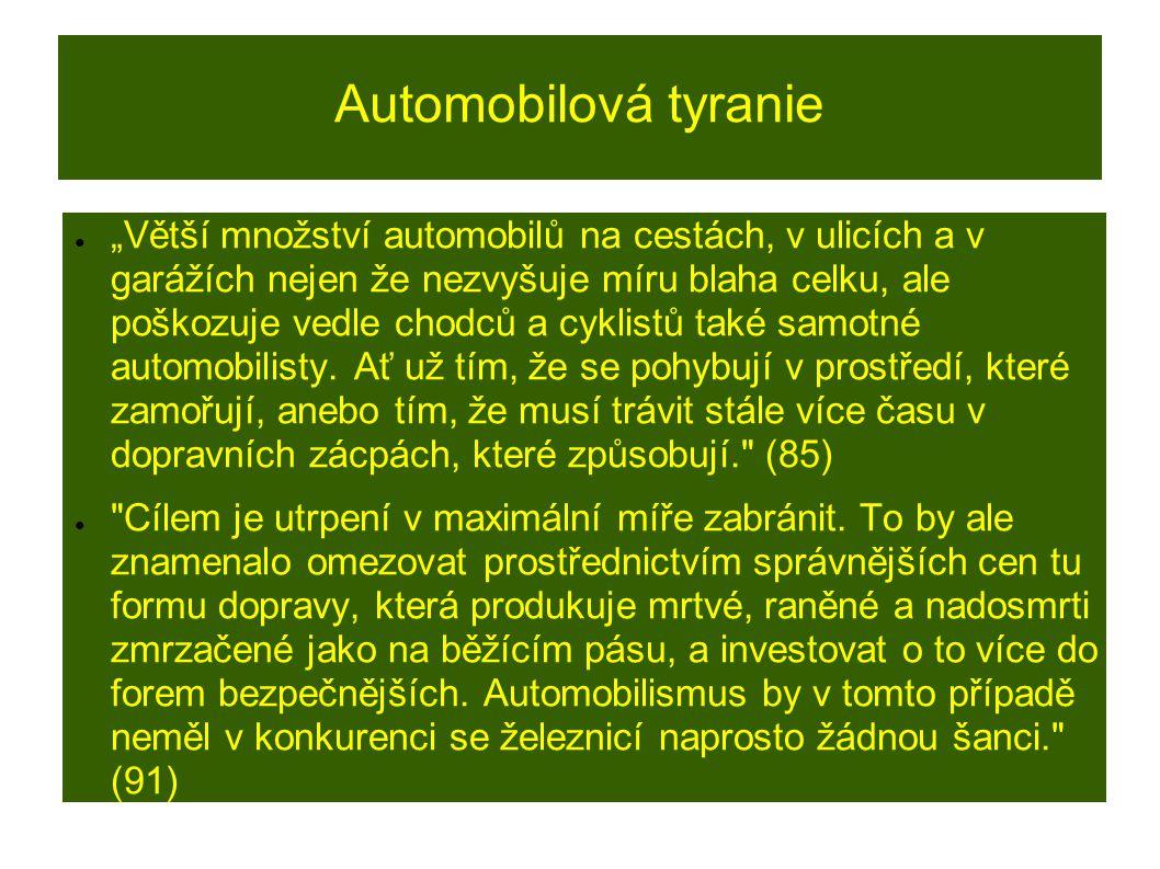 Automobilová tyranie
