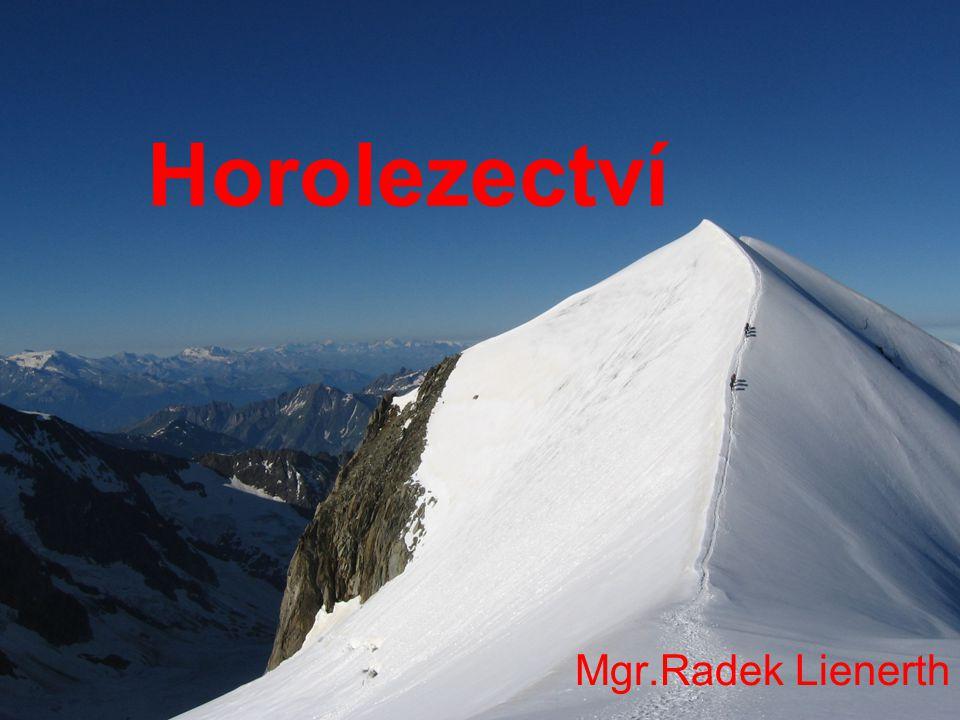 Horolezectví Mgr.Radek Lienerth
