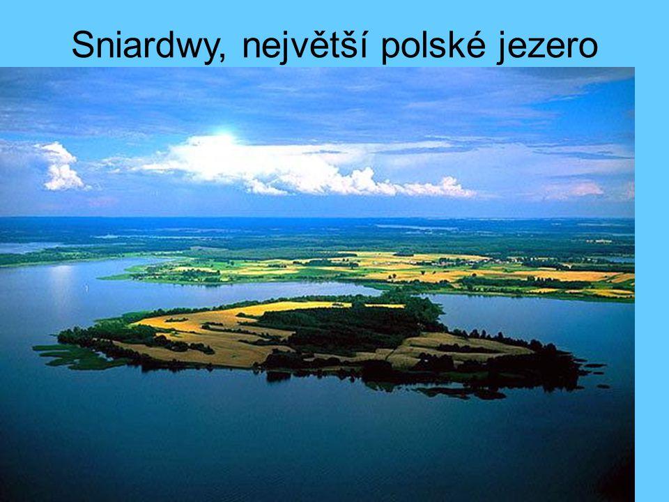 Sniardwy, největší polské jezero