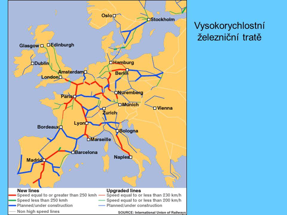 Vysokorychlostní železniční tratě