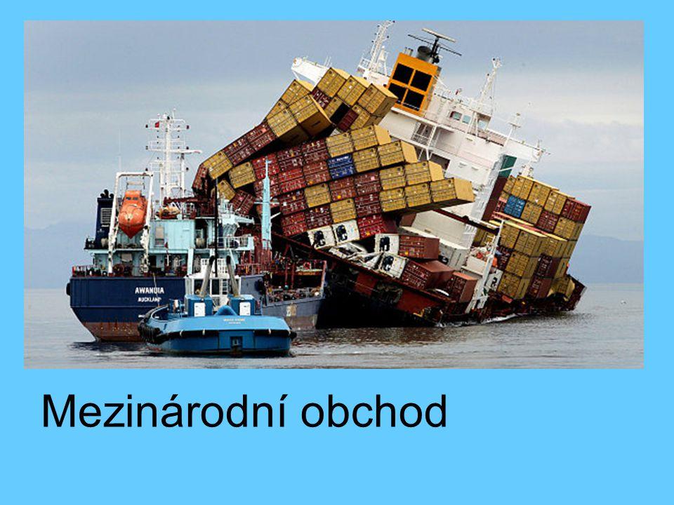 Mezinárodní obchod