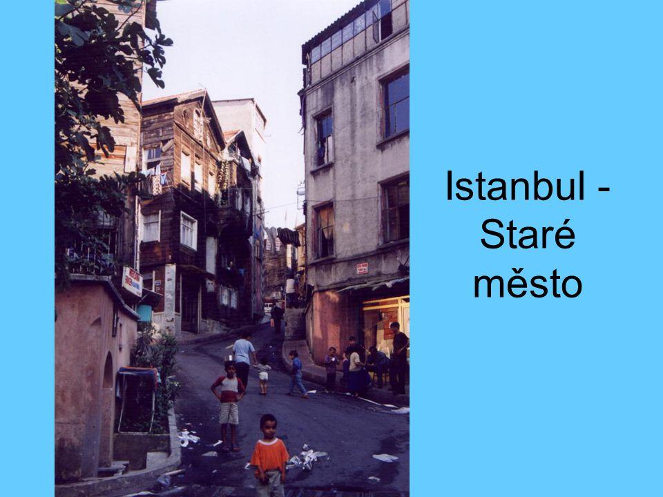 Istanbul - Staré město