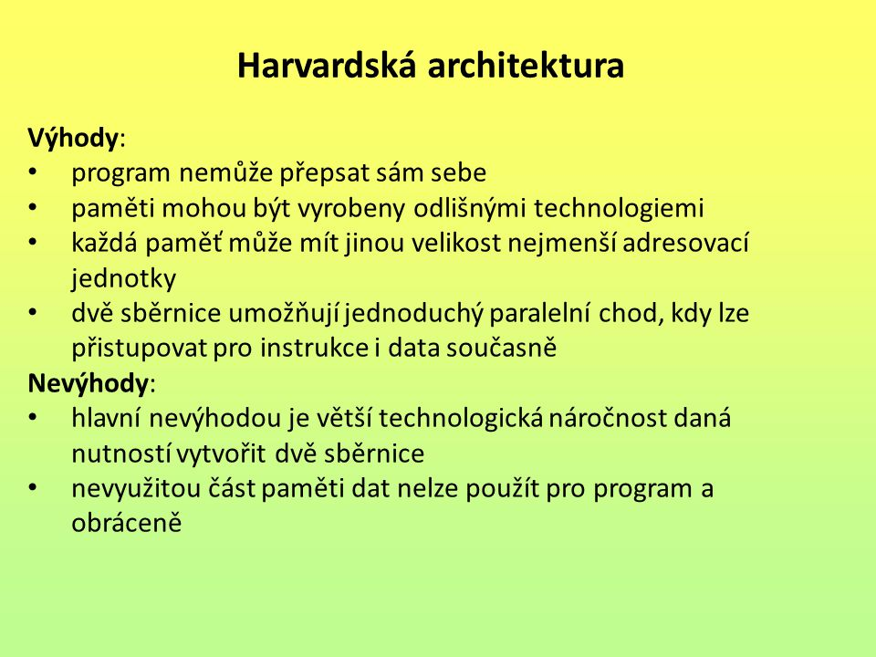 Harvardská architektura
