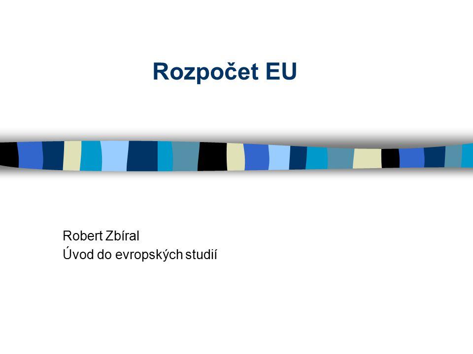 Robert Zbíral Úvod do evropských studií