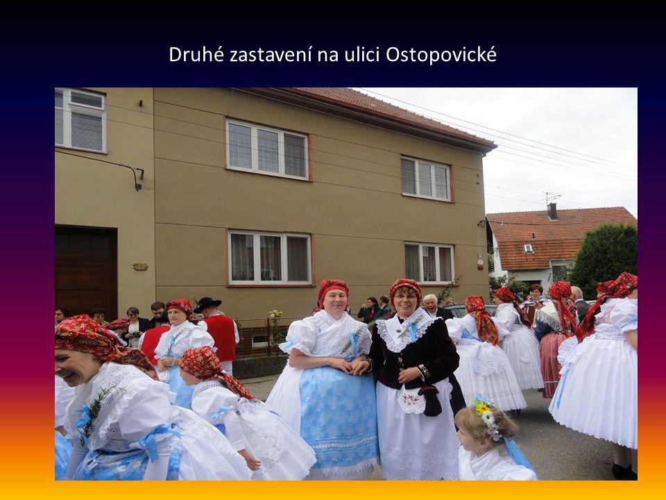 Druhé zastavení na ulici Ostopovické