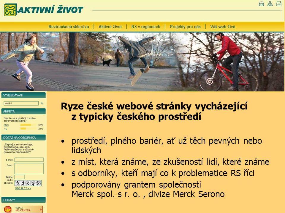 Ryze české webové stránky vycházející z typicky českého prostředí