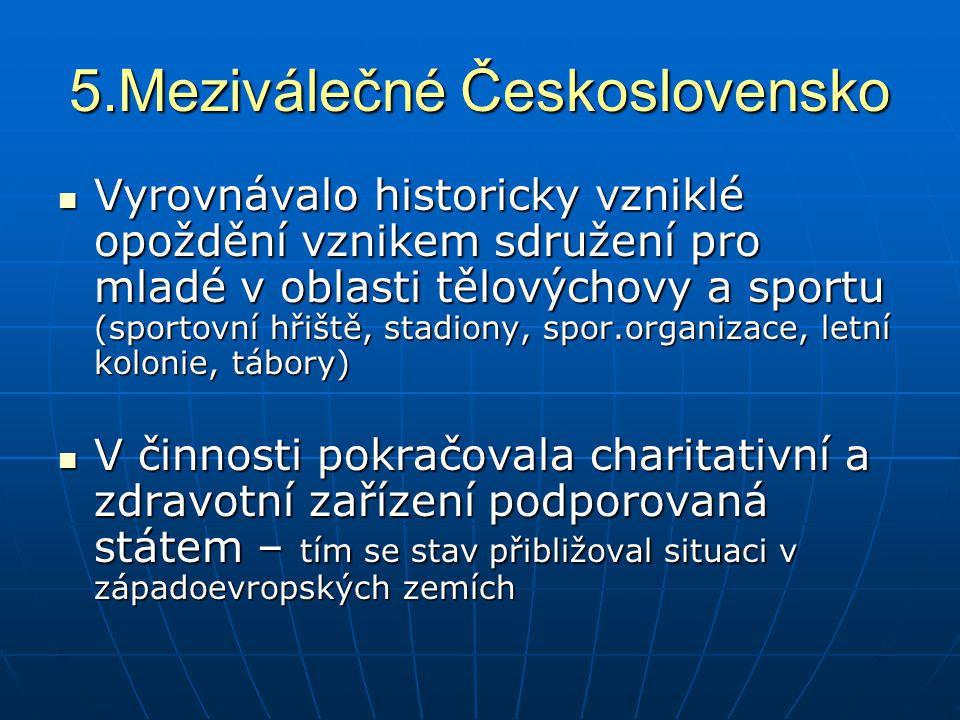 5.Meziválečné Československo
