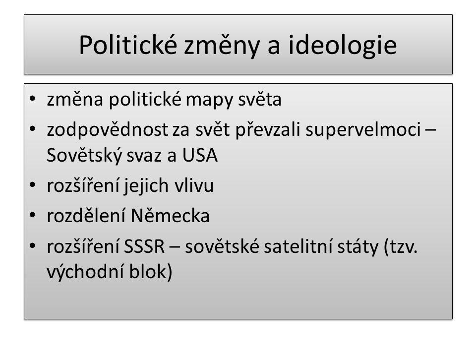 Politické změny a ideologie