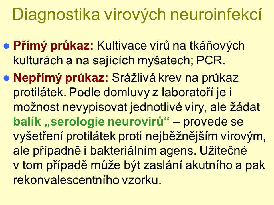 Diagnostika virových neuroinfekcí