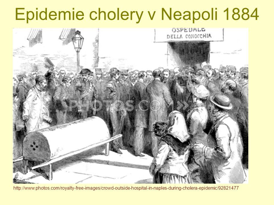 Epidemie cholery v Neapoli 1884