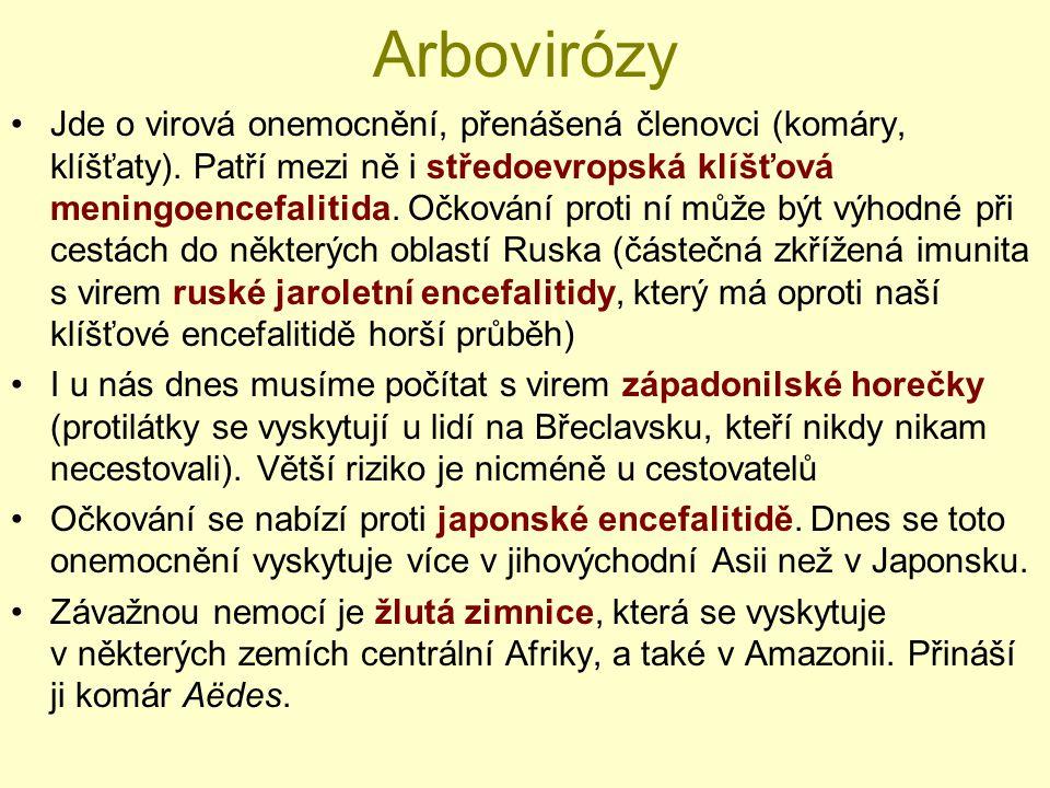 Arbovirózy