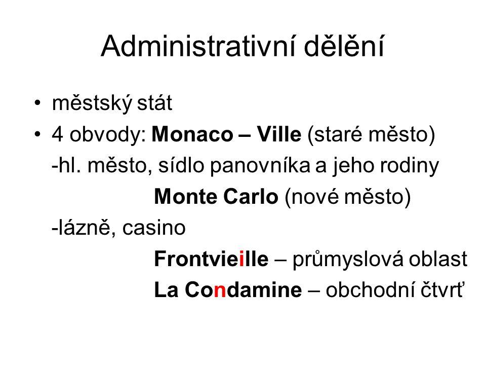 Administrativní dělění