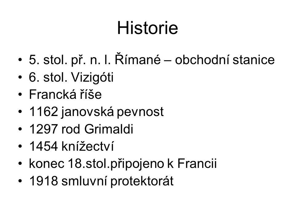 Historie 5. stol. př. n. l. Římané – obchodní stanice