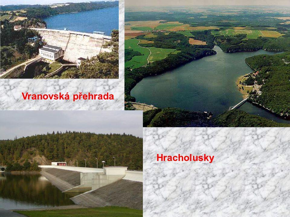 Vranovská přehrada Hracholusky