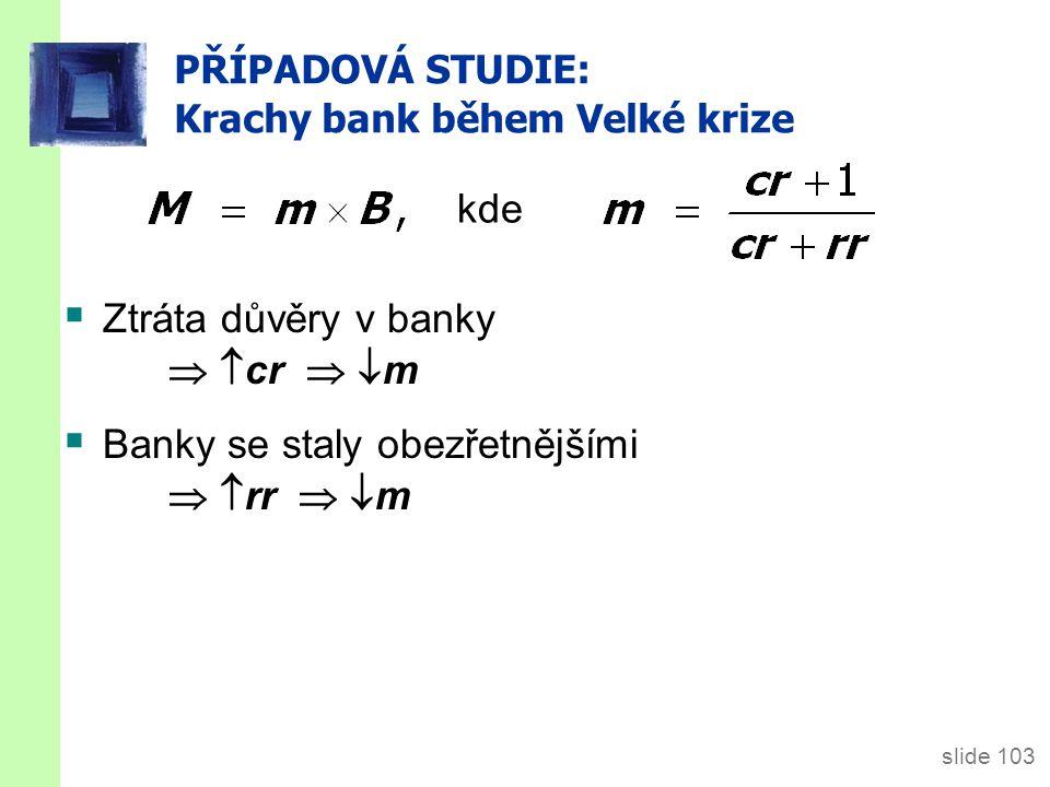 PŘÍPADOVÁ STUDIE: Krachy bank v 30. letech 19. století