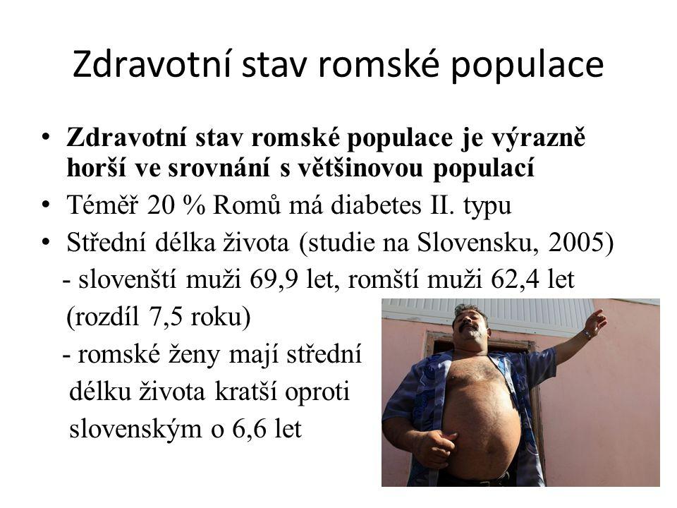 Zdravotní stav romské populace