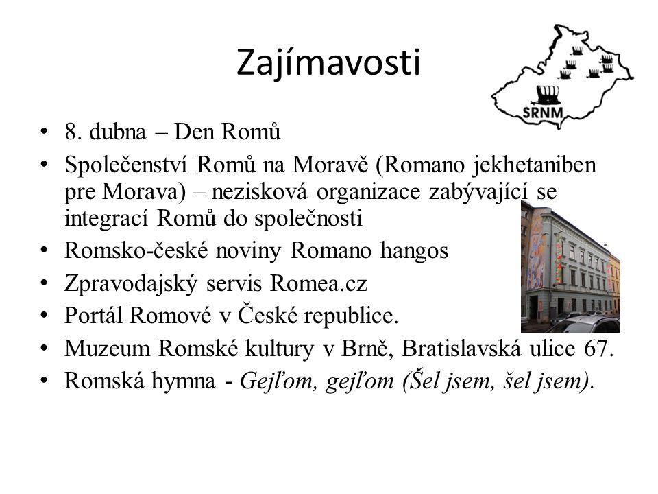 Zajímavosti 8. dubna – Den Romů