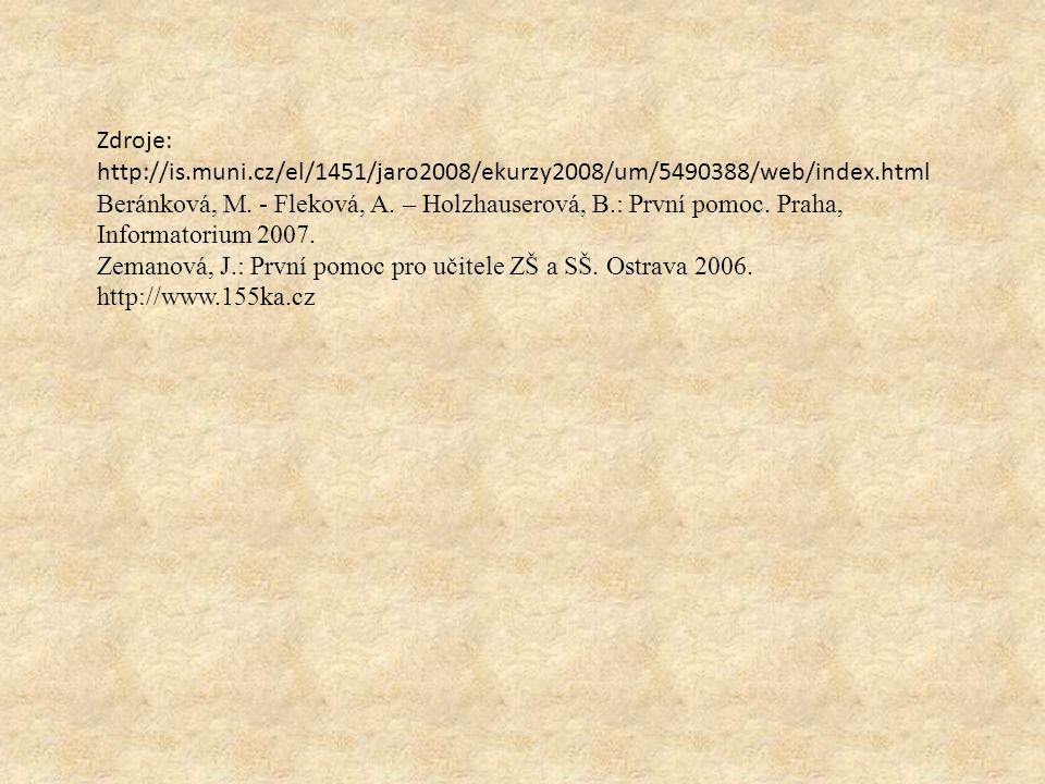 Zdroje: http://is.muni.cz/el/1451/jaro2008/ekurzy2008/um/5490388/web/index.html.