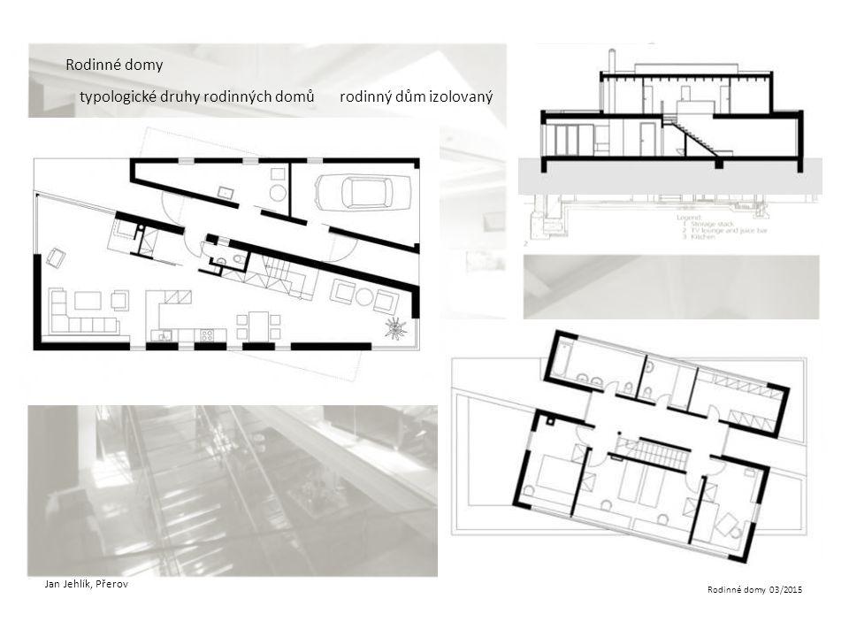 typologické druhy rodinných domů rodinný dům izolovaný