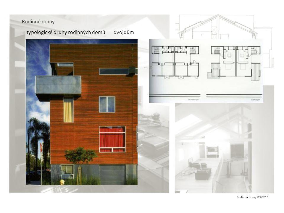 Rodinné domy typologické druhy rodinných domů dvojdům