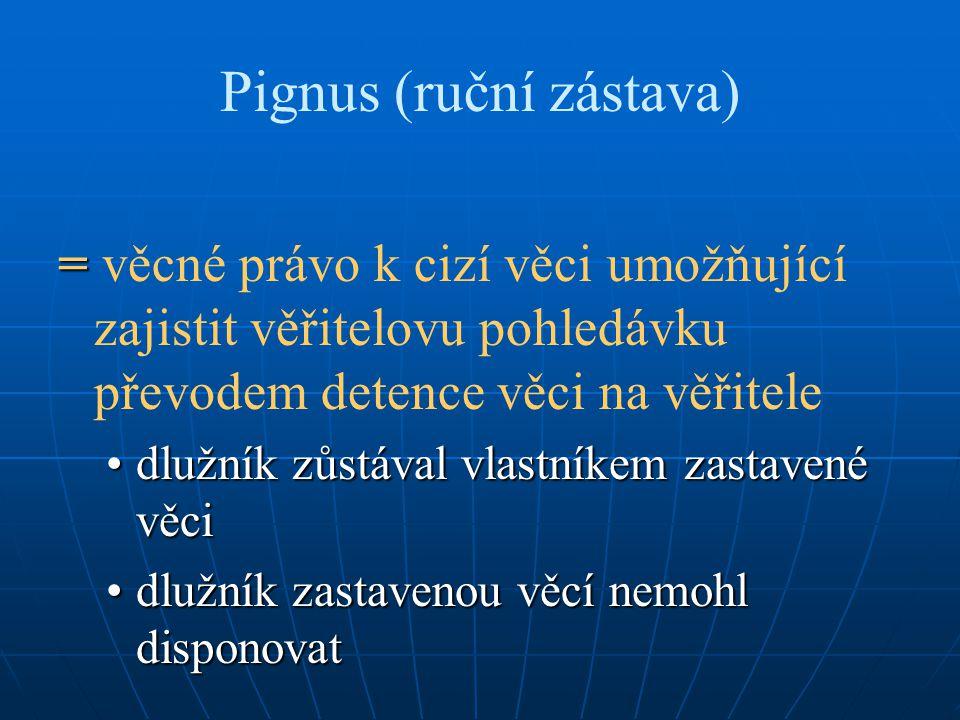Pignus (ruční zástava)