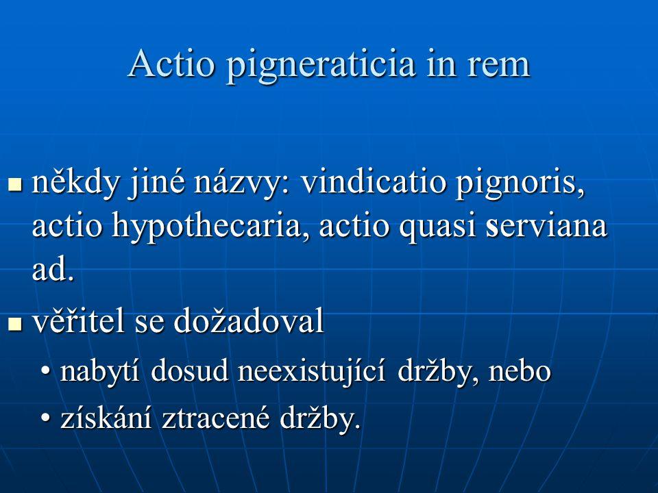 Actio pigneraticia in rem