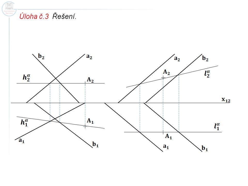 Úloha č.3 Řešení.