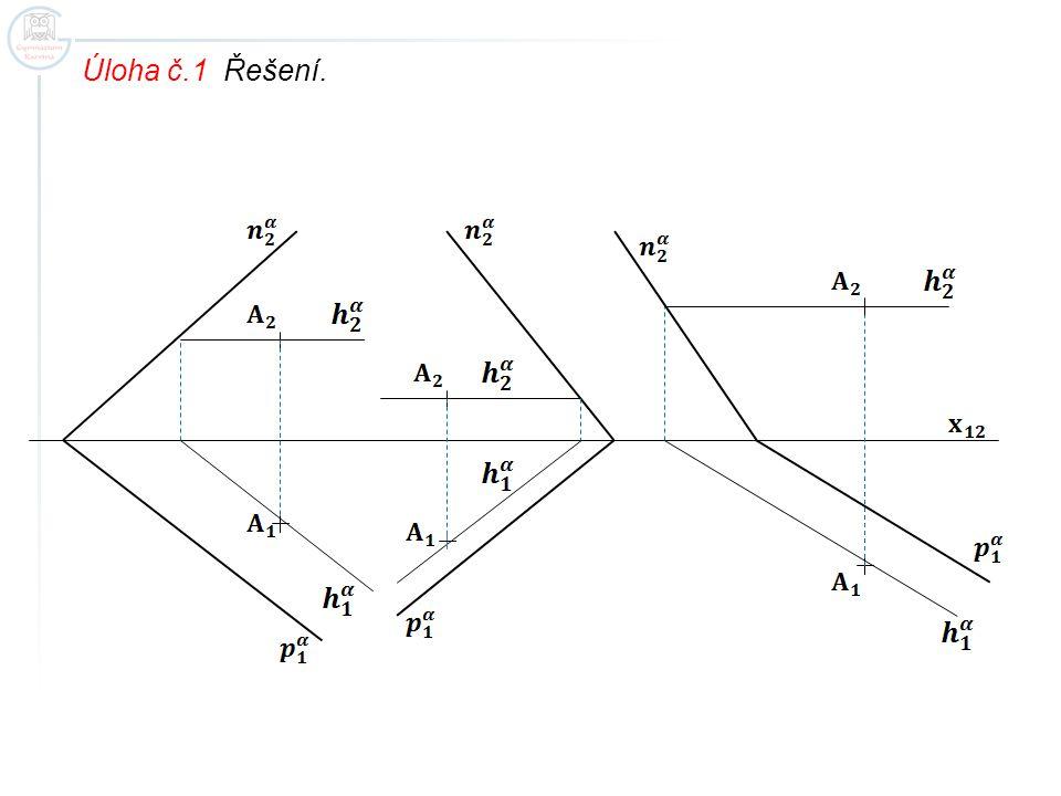 Úloha č.1 Řešení.